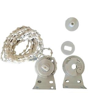 25/28/38mm Kit Curtain Accessories Bead Chain Control Ends Bracket & Roller