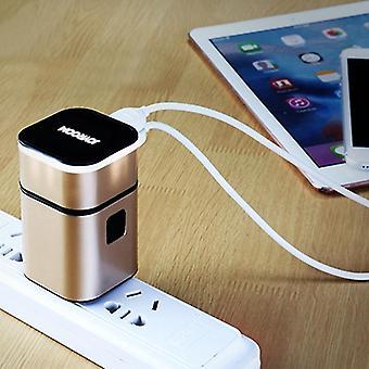 JOYROOM L-T215 5V 3.2A Tragbare Multifunktions-Dual-USB-Ports Smart Charge Travel Charger, für