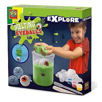 Children's Explore Melting Eyeballs Lab Experiment Kit