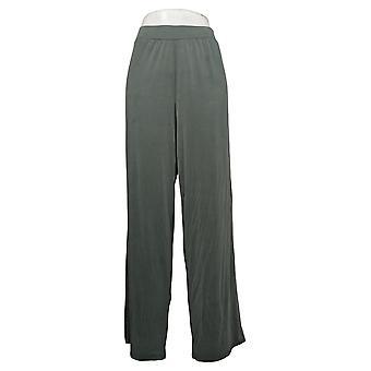 WynneLayers av MarlaWynne Dame Bukser Modal Wide-Leg Green 618313