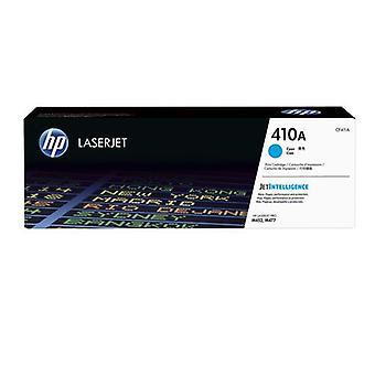 HP 410A LaserJet Tonerkartusche cyan original, 2300 Seiten, Cyan, 1 Stück