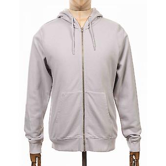 Colorful Standard Organic Cotton Hooded Jacket - Limestone Grey