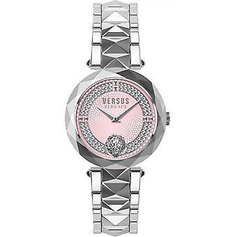 Orologio da donna Versus Versace in acciaio inossidabile argento VSPCD7920