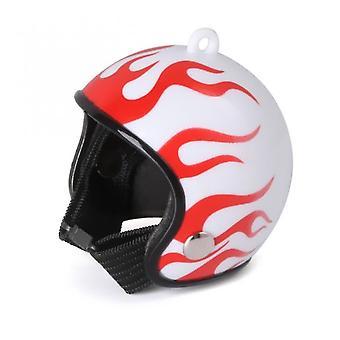 Pet id tags chicken helmet cap pet protective gear sun rain protection helmet toy bird hens small pet supplies