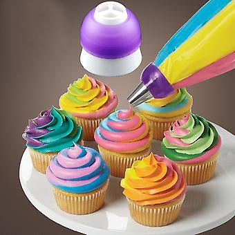 Icing Piping Decorating Nozzle Converter Adapter Fondant Cake Baking Tool