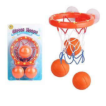 Childrens Bath Toys Basketball Stand Water Hoop Ball Set