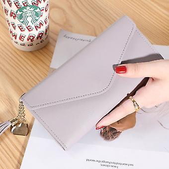 Luxus Lange Brieftasche für Frauen Patchwork Pailletten Clutch Glitzer Pu Leder Damen Telefon Tasche Kartenhalter Münz Geldbörse Weibliche Geldbörsen