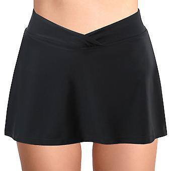 Womens Bathing Skirt Bikini Tankini Bottoms Swimwear With Briefs