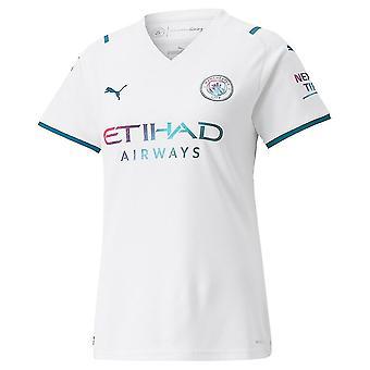 2021-2022 Man City Womens Away Shirt