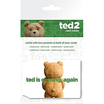 テッド 2 ロゴのカード ホルダー