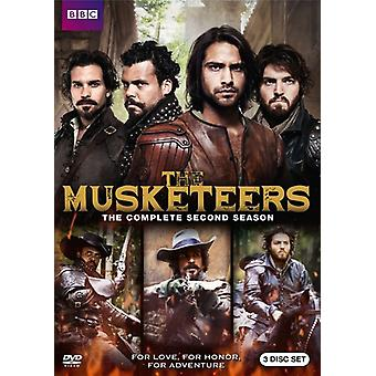 Musketörerna: Säsong två [DVD] USA import