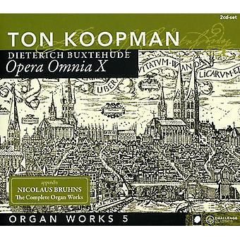 Ton Koopman - Buxtehude: Organ Works, Vol. 5 [CD] USA import