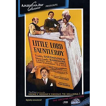 Little Lord Fauntleroy (1936) [DVD] USA importieren