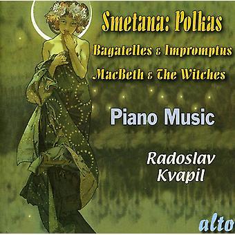 B. Smetana - Smetana: Polkas, frivolidades y Impromptus; Macbeth y las Brujas [CD] USA importar