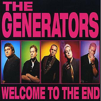 Generators - Welcome to the End [CD] USA import