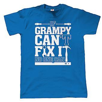 Si Grampy ne peut pas le réparer, personne ne peut, drôle de Mens T Shirt