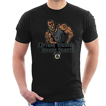 Liftin Vikingen scheren nooit mannen T-Shirt
