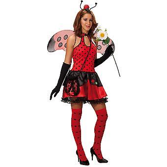 Frauen Kostüme Sexy Lady Bug Kostüm