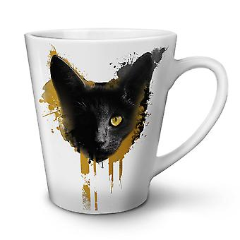 Kitty Animal Adorable nuevo té blanco café Latte de cerámica taza de 12 oz | Wellcoda