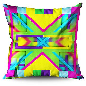 Colorful Ormanent Linen Cushion 30cm x 30cm | Wellcoda
