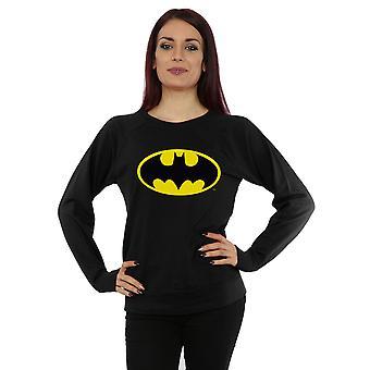 DC Comics Women's Batman Logo Sweatshirt