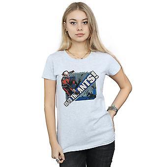 驚異女性の Ant 男アリ t シャツへ