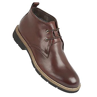 Roamers menns 2 Eye fleksibel Chukka Leather Boots