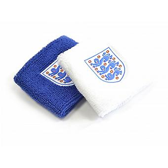 England Wristbands Pack Of 2