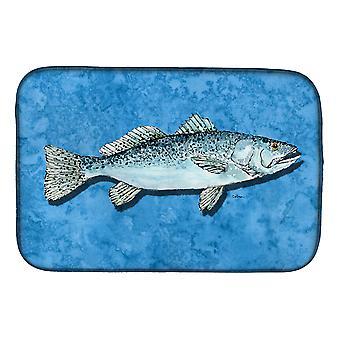 Carolines tesori 8770DDM pesce - trota piatto essiccazione Mat