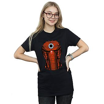 Marvel kvinnors järn mannen bröst Burst pojkvän Fit T-Shirt