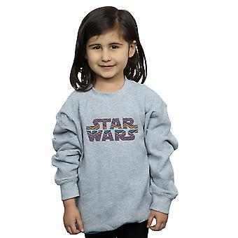 Star Wars Girls Colour Aztec Logo Sweatshirt