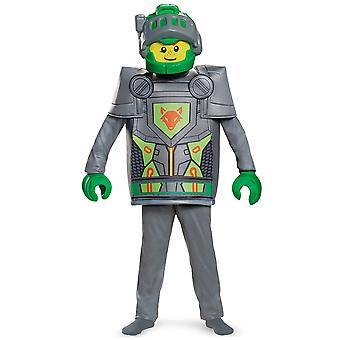Aaron Deluxe LEGO Nexø riddere Minifiguren middelalderlige drenge kostume