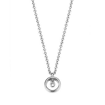 ESPRIT women's chain necklace silver cubic zirconia purity ESNL93191A420