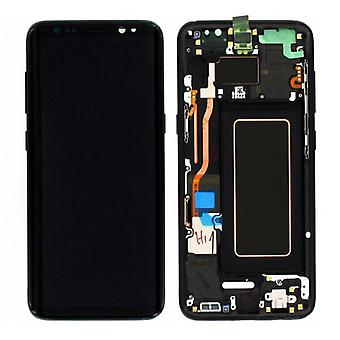 Display LCD complete set GH97 20457A black for Samsung Galaxy S8 G950 G950F