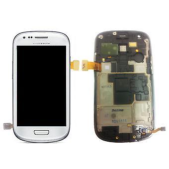 Samsung Galaxy S3 Mini i8190 branco LCD - GH97-14204A