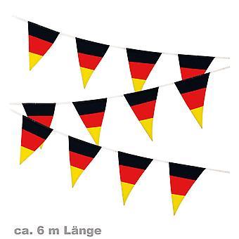 Wimpelgirlande Fan Party Fußball Deutschland