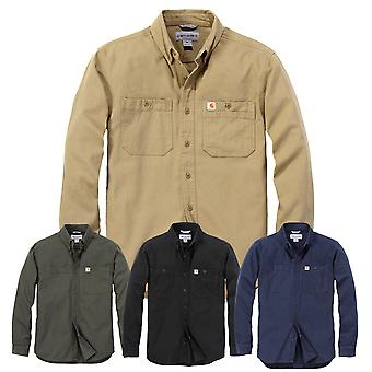 Carhartt men's long-sleeve shirt rugged Flex Rigby