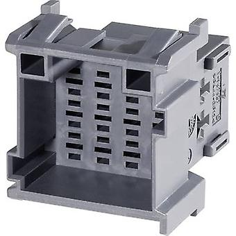TE Connectivity Socket enclosure - cable J-P-T Total number of pins 12 Contact spacing: 5 mm 1-967627-1 1 pc(s)