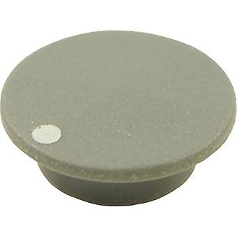 Cliff CL1750 Cover + dot Grey Suitable for K21 rotary knob 1 pc(s)