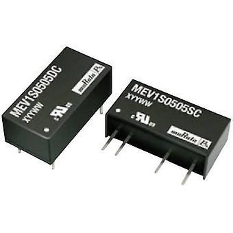 Murata Power Solutions MEV1S2412SC DC/DC converter (print) 24 V DC 12 V DC 84 mA 1 W No. of outputs: 1 x