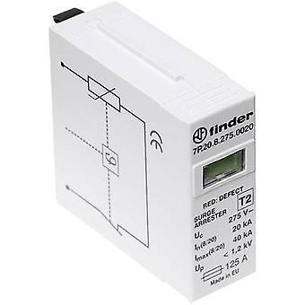 Finder 7P. 20.8.275.0020 VARISTOR-Schutzmodul ylijännitesuojat (plug-in) ylijännitesuoja: valikko näytöt 20 kA 1 kpl/s
