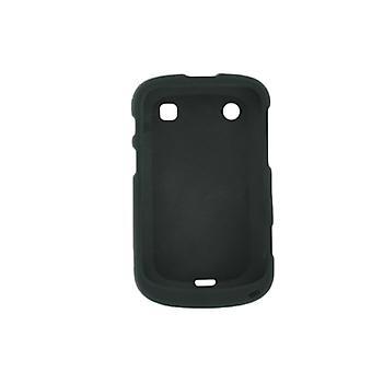 5 pack - sprintin kumilla Snap-On tapauksessa BlackBerry Bold 9900/9930 - musta