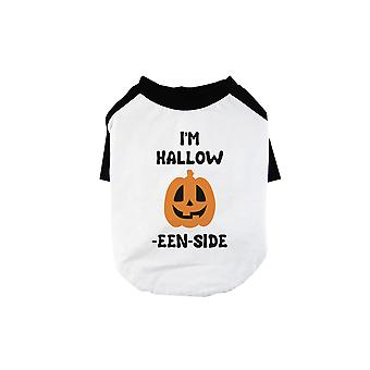 Hollow Inside Pumpkin Pet Baseball Shirt for Small Dogs