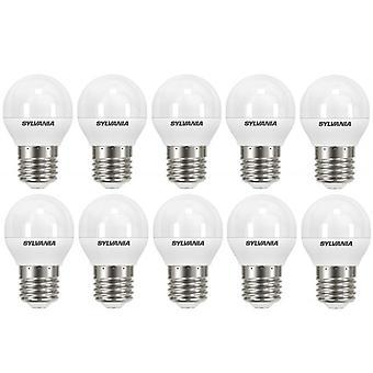 10 x Sylvania ToLEDo Ball E27 V4 5.5W Homelight LED 470lm [Energy Class A+]