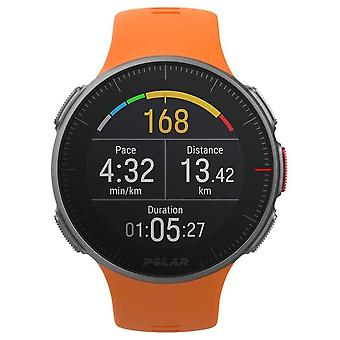 Sehen Sie Polar Vantage V Orange GPS Multisport Premium Training HR 90070738