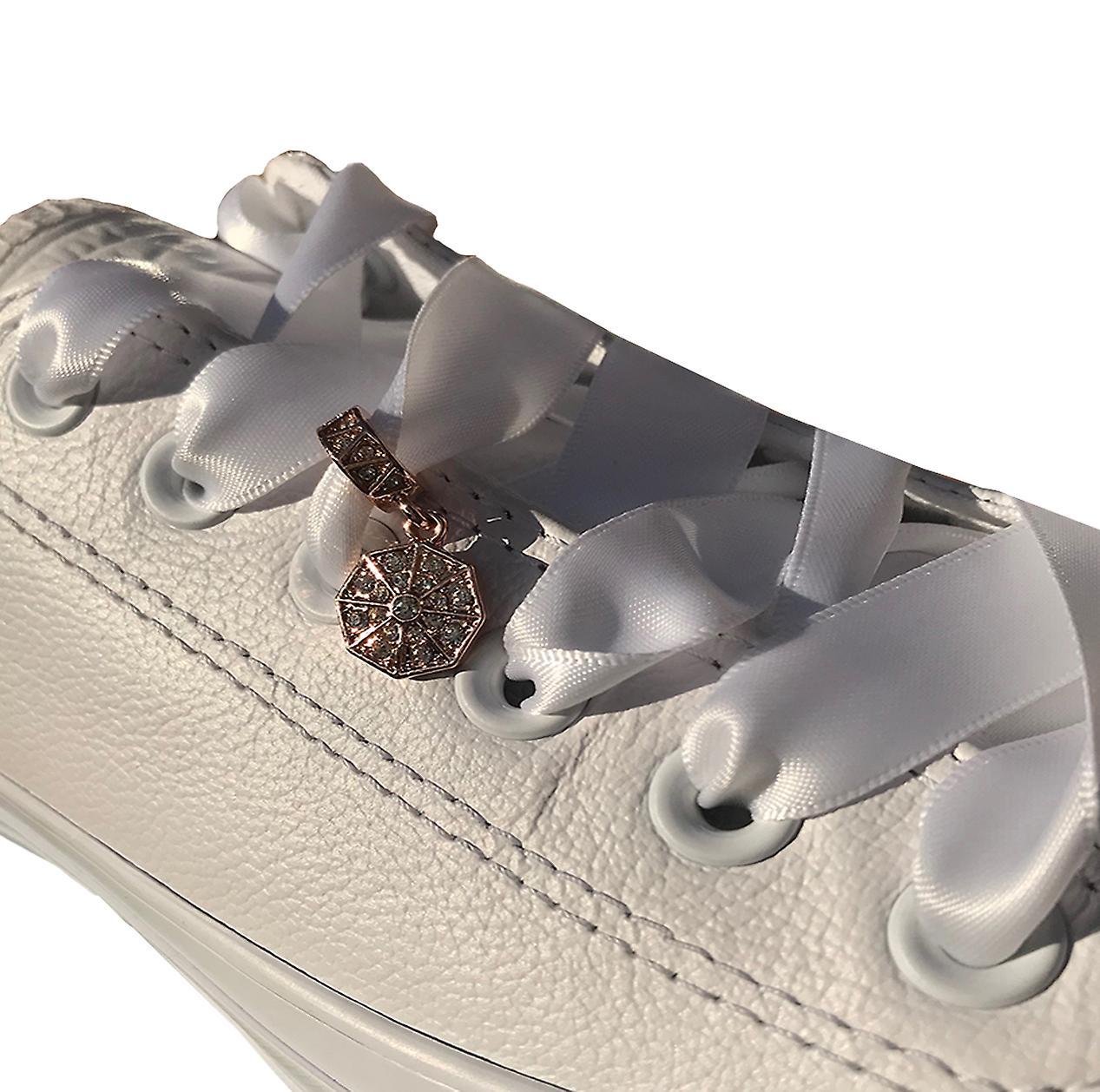 Rose Gold Dangle Shoe Charm