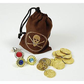 Pièces pirate & bijoux.