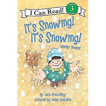 Sta nevicando! è nevicando!: poesie inverno (mi può leggere libri: livello 3 (Harper brossura)): inverno poesie (mi può leggere libri: livello 3 (Harper brossura))