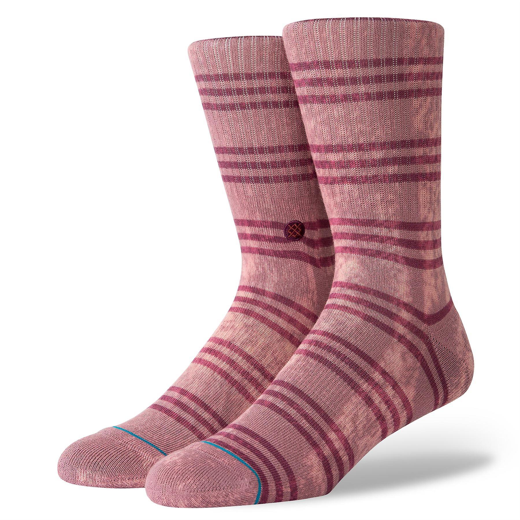 Stance Foundation Mens Socks ~ Kurt rose smoke (size L)