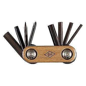 Gentlemen's Hardware Wood & Titanium Multi-Tool